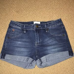 HUDSON kids denim shorts